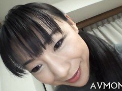 Dirty Asian babe cure a sick guy with a blowjob