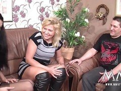 MMV FILMS German Mature Fucking lessons
