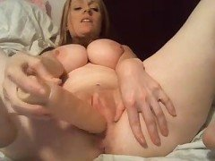Busty milf masturbation webcam