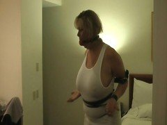 Mature bound and gagged