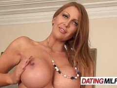 Brunette Hot Milf With Big Tits Solo