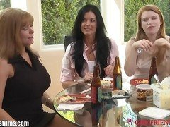 GirlfriendsFilms Strapped Lesbian MILF 3Some