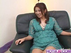 Nana Nanami Asian gets many vibrators on body