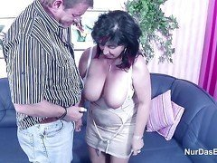 German Mom and Dad in Porn Casting