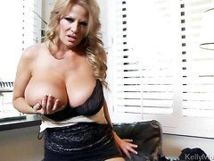 Kelly Madison and her toys